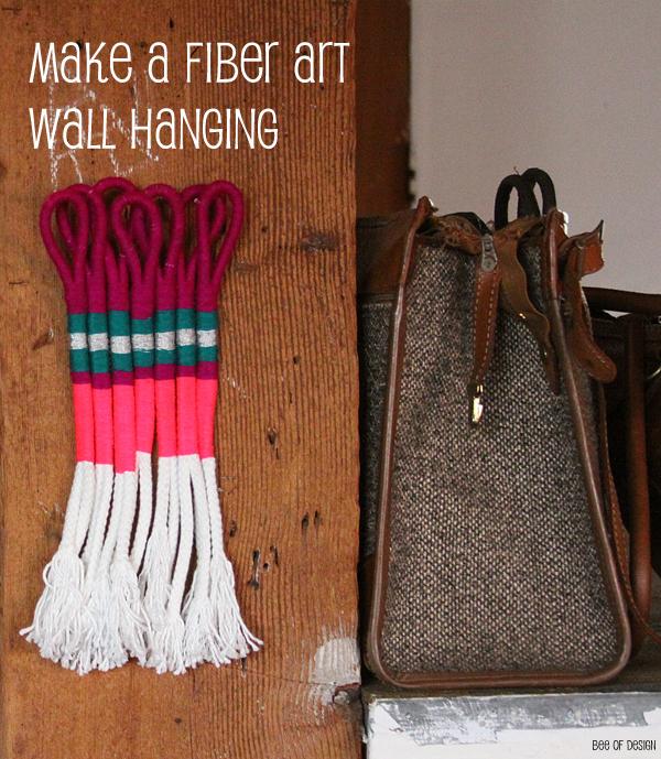 DIY fiber art